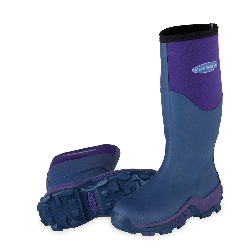 Amazon.com | Muck Boots Greta Womens Wellies UK 8 Violet | Rain ...