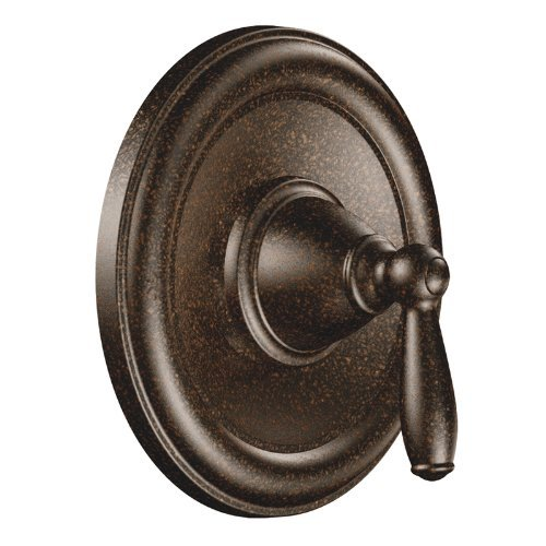Moen T2151ORB Brantford Posi-Temp Pressure Balancing Traditional Tub and Shower Valve Trim Kit Valve Required, Oil-Rubbed Bronze (Moen Tub Shower Trim Kit Oil Rubbed Bronze)