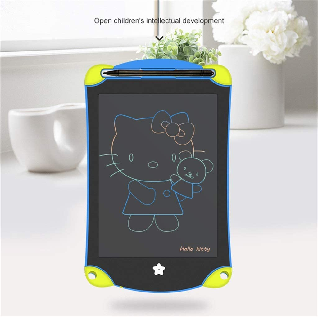 JUZXAAP 8.5 Inch LCD Spelling Board Color Portable Drawing Board Suitable for Children and Children with Stylus Erase Magnetic Graffiti Sketch Digital Notepad Announcement