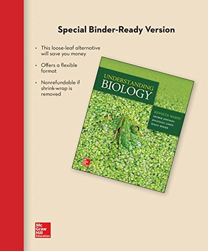 Loose Leaf for Understanding Biology with Connect Access Card