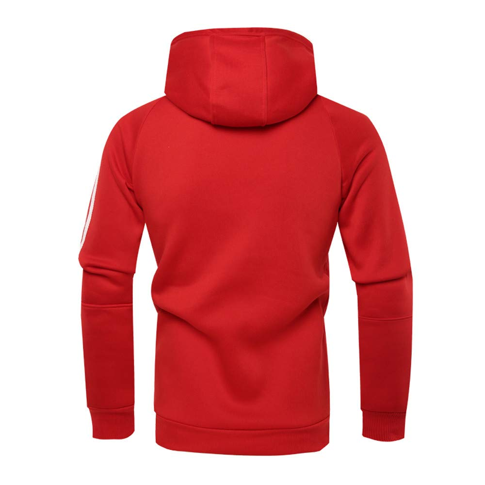 ... Gym Correr Ocio Otoño Invierno Manga Larga Sólido Estampado con Capucha Sudadera con Capucha Top Camiseta Outwear Blusa: Amazon.es: Ropa y accesorios