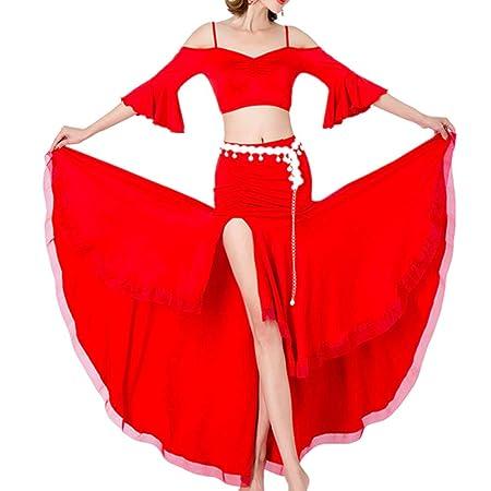 Vestido de Baile Para Mujer Falda de danza del vientre Falda de ...