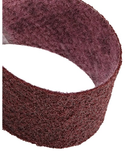 Scotch-Brite(TM) Surface Conditioning Belt, 6 Width x 48 Length, Medium, Maroon (Pack of 5) by Scotch-Brite
