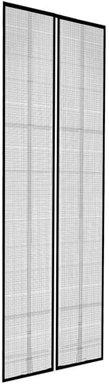 Insektenschutzvorhang Magnetverschluss Fliegengitter Lamellenvorhang 100 x 220cm
