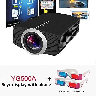 OSB STYLE Proyector Mini 1080P 1800 Lumen Proyector LCD portátil ...