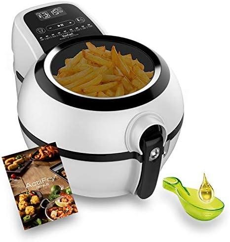 Tefal Actifry Genius Snaking FZ761015 - Freidora sin aceite, de aire 1.2 kg, con 9 programas automáticos y accesorio para snacks, panel táctil intuitivo e incluye recetario, apto lavavajillas: Amazon.es: Hogar