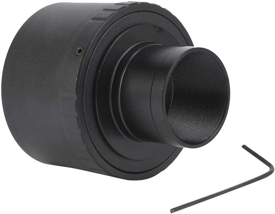 Mugast T2-FX 1 Telescope Adapter Ring 1.25inch Alloy FX Mount Adapter for Fujifilm Fuji FX-T1X-A1X-E2X-M1X-E1X-Pro1 Camera