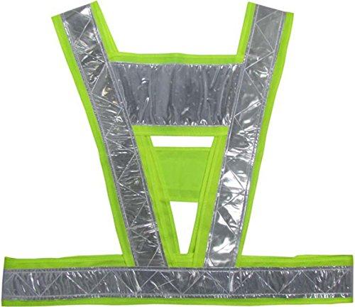 (Nasis V-type Reflective Vest/Reflective Running Vest/Cycling Vest/Safety Vest/Reflective Warning Vest/Multifunctional)