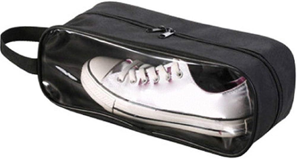 A Transparent Fen/être sur le Sac Gym Sport Sac Organisateur Sac Voyage Sac Chaussure Chaussure Sac /Étui 33cm X 14cm X 12cm, Bleu Portable Chaussure Voyage Sacs Imperm/éable Chaussures