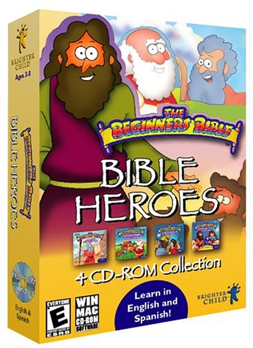 Bible Heroes (4-CD Pack) by Brighter Minds