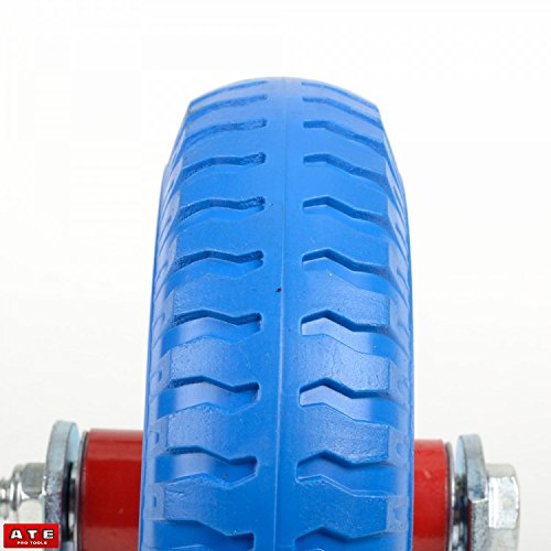 8'' Fixed Caster Tire Trailer Tire Flat Free Tire Wheel 1pc