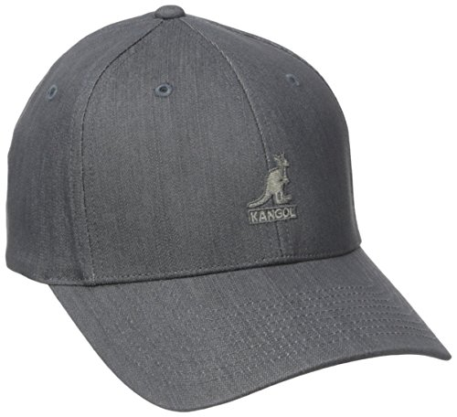 Kangol Men's Denim Baseball, Gray, L/XL