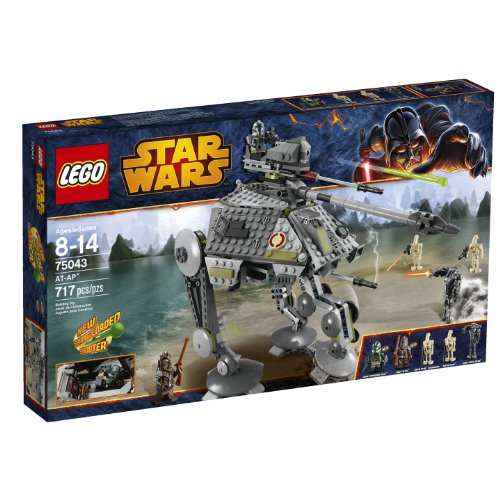 LEGO Star Wars 75043 AT-AP (Discontinued by - Lego Star Wars Clone Gunship