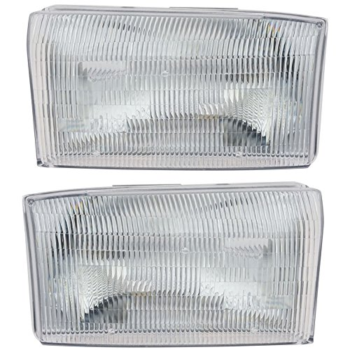 Left & Right Pair Set for Ford Super Duty Pickup Truck (Super Duty Pickup Truck Headlight)
