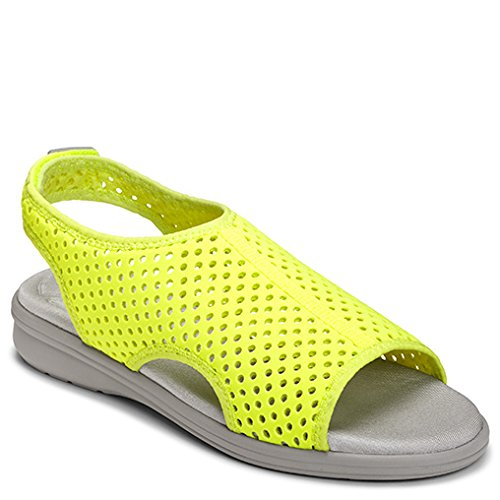 Aerosoles Women's Great Day Fisherman Sandal B001HU0FDO 9.5 B(M) US|Yellow Fabric