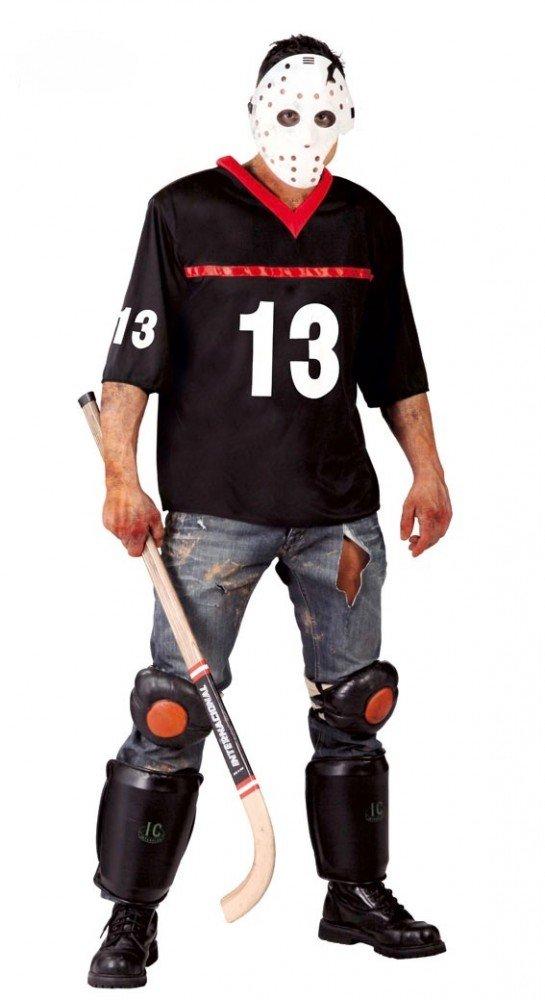 shoperama Halloween Disfraz de Viernes el 13. para Señor Hockey Jugador Jason muertas Horror Killer: Amazon.es: Juguetes y juegos