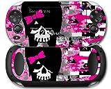 Sony PS Vita Decal style Skin - Scene Girl Skull