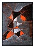Modern Area Rug Design Gallery 24 (8 Feet X 10 Feet), Orange