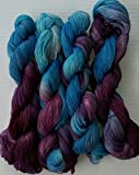 Divine Merino Lace Yarn Hand Dyed Color #59 Approx 70 -100g/ 630 - 900m