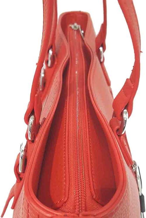 Beverly Hills Polo Club - Bolso de tela para mujer rojo rojo ...