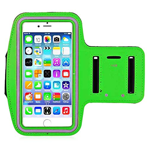LJ2 Running Armband, Waterproof Universal Running Gym Sport Armband for Jogging and Cycling, Compatible with Iphone6/7/8 Iphone6p/7P/8P,E ()