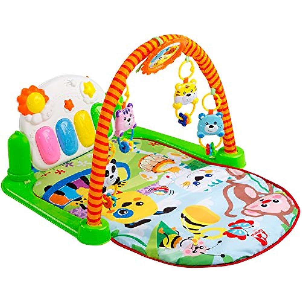 Kick /& Play Piano Music Gym Play Mat Baby Toddler Kids Activity Stretching Uk