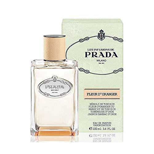 Milano Infusion Prada (Prada Les Infusion Fleur d'Oranger Spray Perfume For Women 3.4 OZ.)