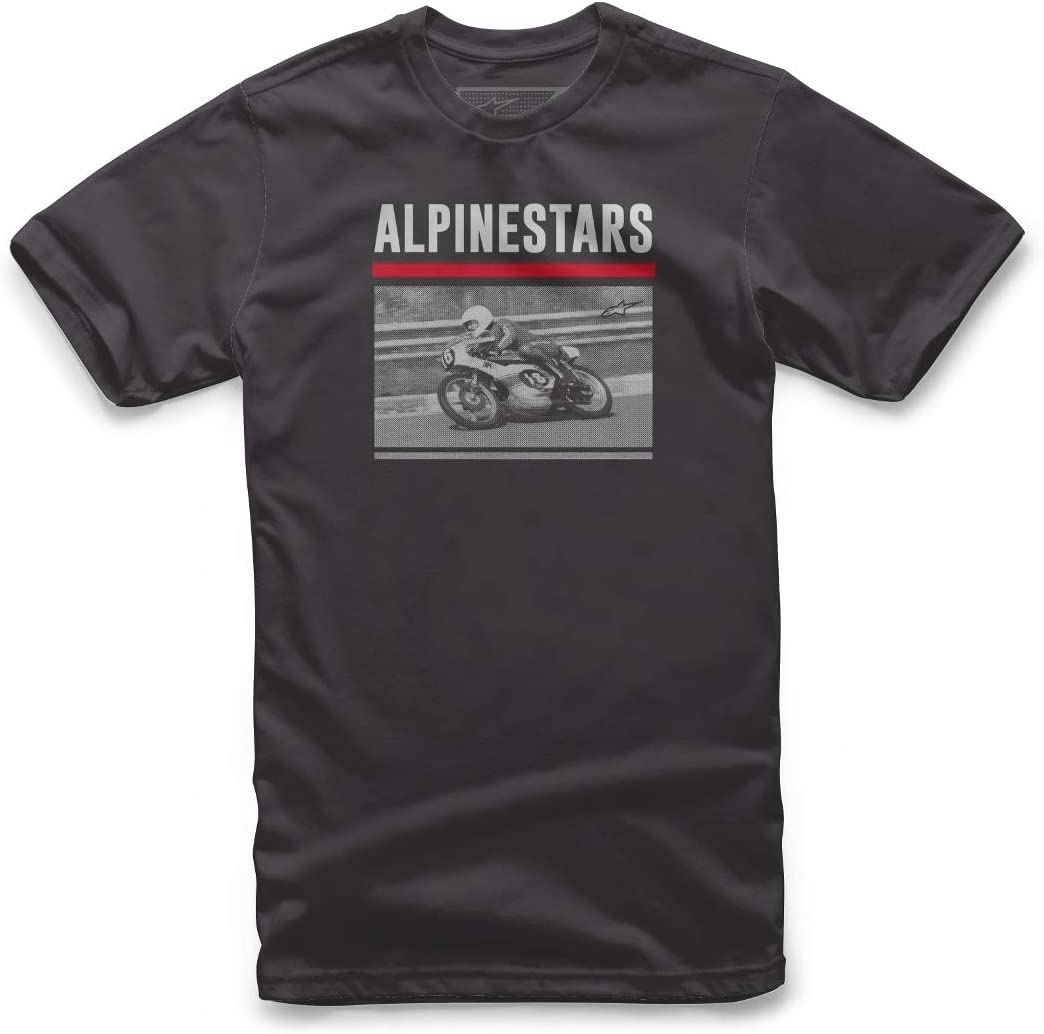 Alpinestar Recorded tee - Camiseta Estampada Inspirada en el Deporte del Motor Hombre