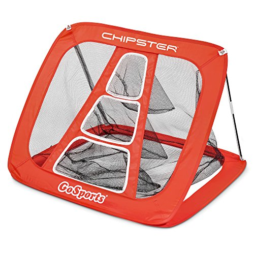 GoSports Chipster Golf Chipping Pop Up Practice Net | Indoor Outdoor Short Game Training