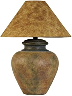 Southwest pattern paprika shade table lamp amazon southwestern style table lamp aloadofball Gallery