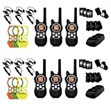 Amazon Price History for:Motorola MR350TPR 35-Mile Range 22-Channel Two-Way Radio Includes 6 Belt Clips & 6 Earbuds with PTT Microphone & 6 Extra Skin Replacments(6 Pack)