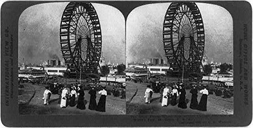 (Photo: Reproduction,World's Fair,St. Louis,Missouri,MO,Great Ferris Wheel,c1905)