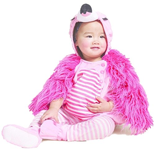 Baby Plush Flamingo Vest