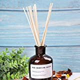 Whaline 120 Pieces Reed Diffuser Sticks Wood Oil