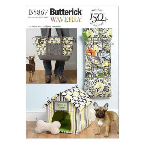5867OSZ   Toy, Organizer, House, Mat and Carry Bag Sewing Template (Toy Pattern)