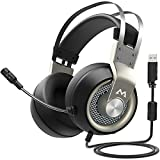 Mpow EG3 Gaming Headset, 7.1 Surround Sound Gaming Headphones, 50mm Driver, Stereo USB