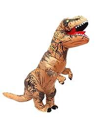 Tricandide Inflatable Dinosaur T-REX Adult Halloween Costume Cosplay