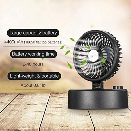 pour Maison,Bureau et Voyage Decdeal Ventilateur Mini de Poche Pliable Ventilateur de Table,Petit Ventilateur Portable Rechargeable USB Mini Ventilateur