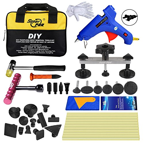 Super PDR 32Pcs New PDR Auto Car Body Dent Repair Removal Tools Dent Puller Suction Cup Dent Repair Kit by Super PDR (Image #8)