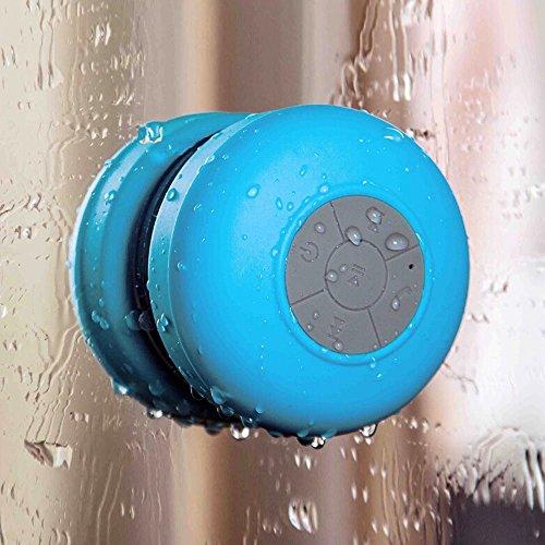 Bluetooth Waterproof Wireless Shower Handsfree Mic Suction C