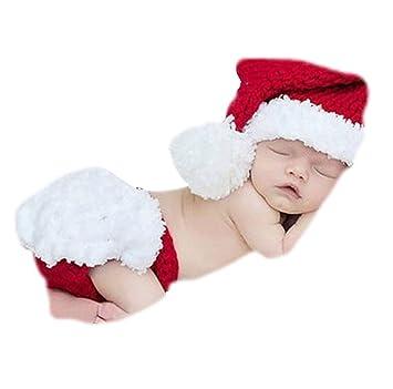 EROSPA® Baby Weihnachtsmann Kostüm Neugeborenen Christmas ...