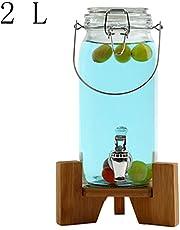 Tienda Latas De Jugo Dispensador De Bebidas De Vidrio Botella De Vino Transparente Enzima Barril Hogar