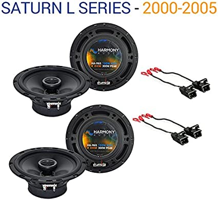 Saturn S Series 2000-2002 Factory Speaker Upgrade Harmony R65 Package New 2