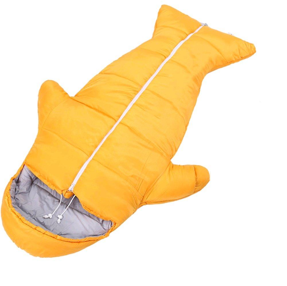 1KG-Orange  AISHUAIGE Sac de Couchage Professionnel Adulte en Plein air Sac de Couchage en Duvet randonnée Sac de Couchage Aventure enveloppe Sac de Couchage de Camping