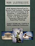 North Western-Hanna Fuel Co. , Berwind Fuel Company, Carnegie Dock and Fuel Company, et Al. , Appellants, V. United States of America, Interstate Commer, John F. Donelan and Curtis H. BERG, 1270435574