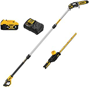 DeWALT DCKO86M1 20V MAX Cordless Li-Ion Pole Saw/Hedge Trimmer Combo Kit