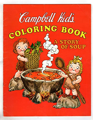 Campbells Soup Magazine - Campbell Kids' Coloring Book - A Story of Soup