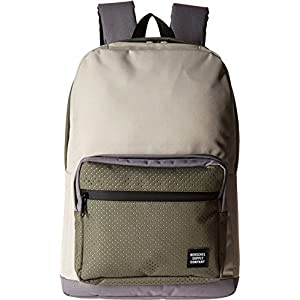 Herschel Supply Co. Unisex Pop Quiz Pelican/Deep Lichen Green/Black Rubber Backpack