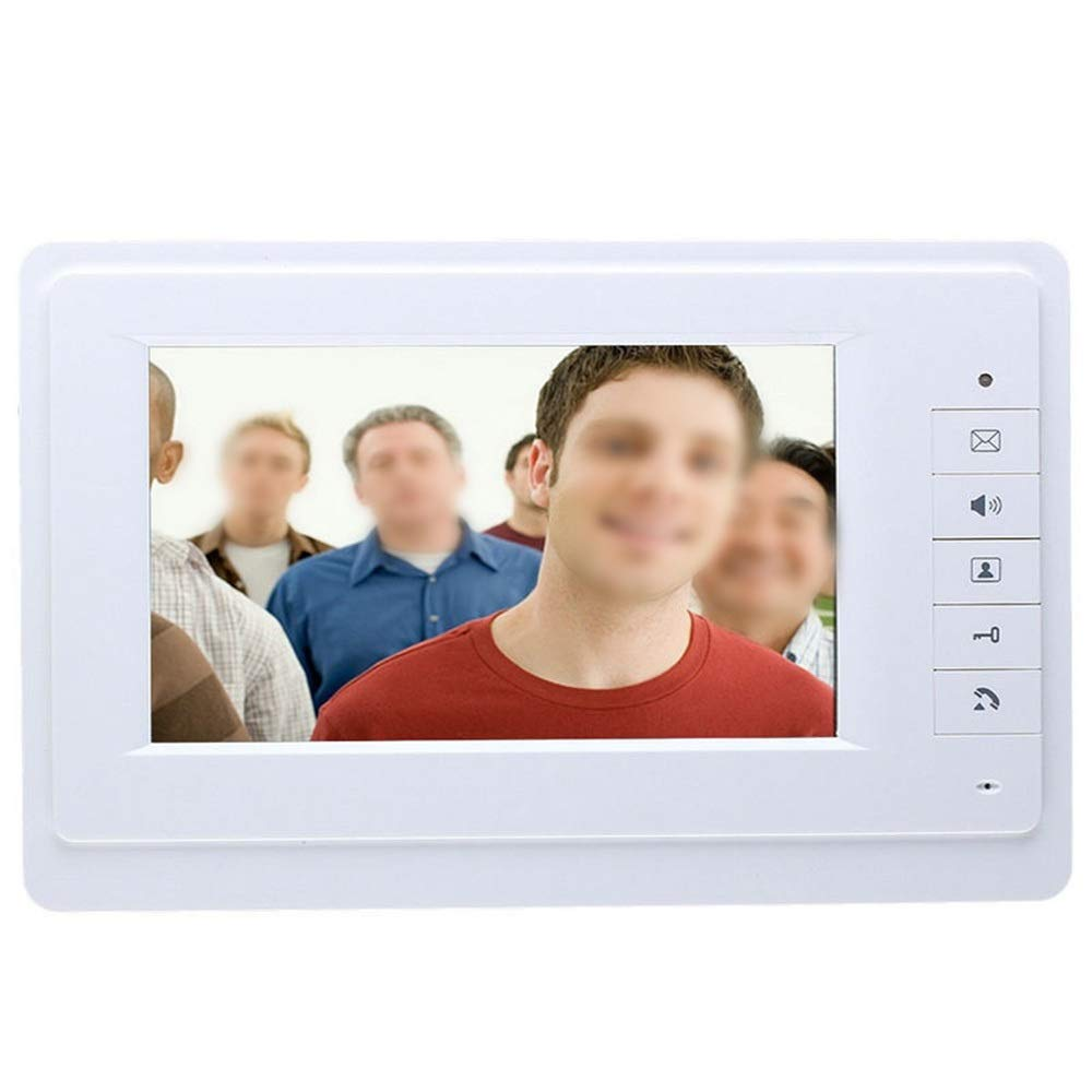 KRPENRIO 7 inch video doorbell two outdoor units plus one indoor unit by KRPENRIO (Image #3)