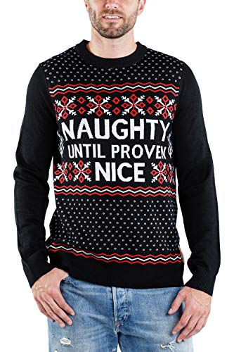 Naughty Humor Christmas Merry Christmas Mens Plus Velvet Padded Hoodie